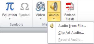Как вставить аудио в презентацию Поверпоинт